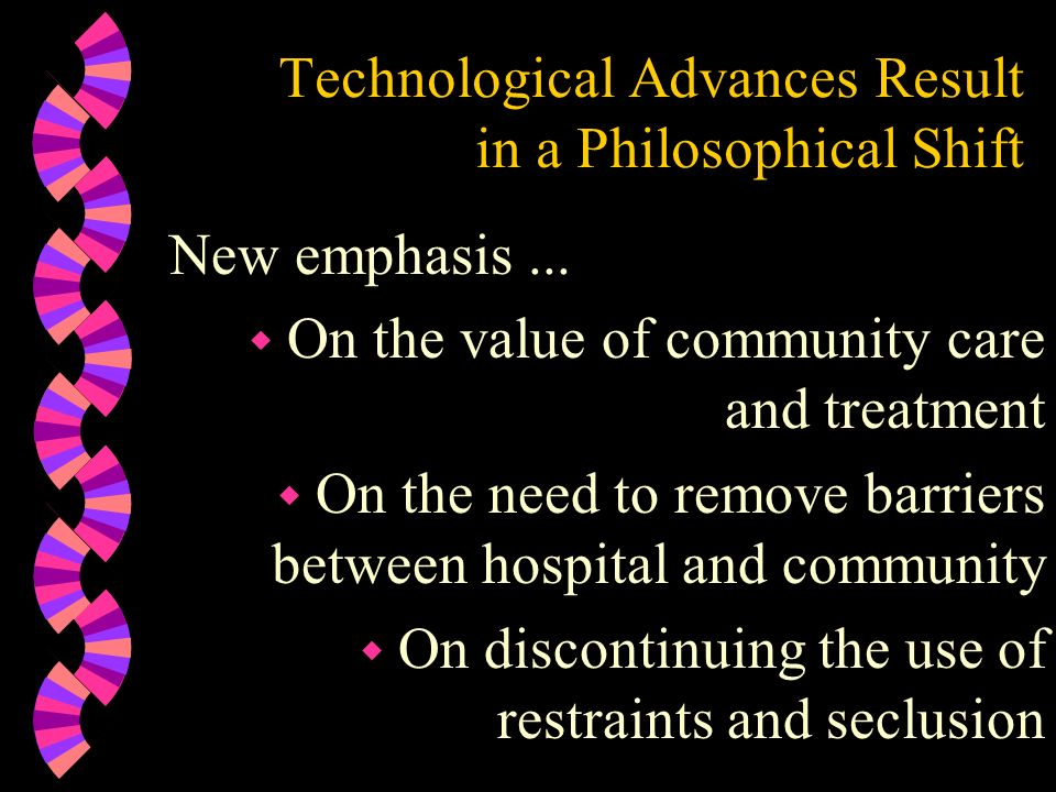 Technological Advances Result in a Philosophical Shift