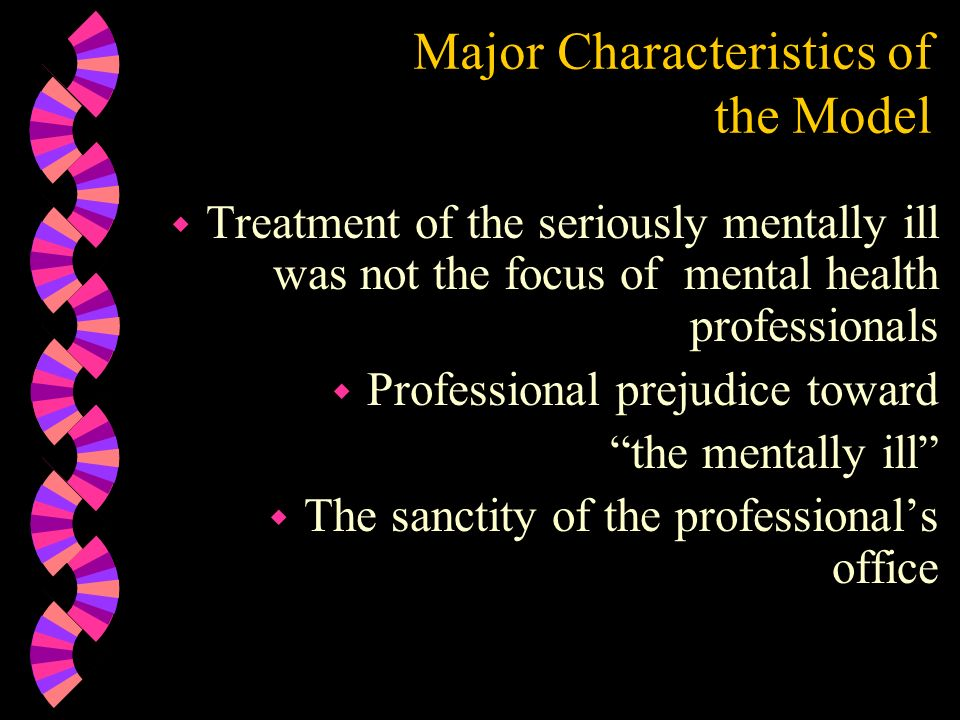 Major Characteristics of the Model