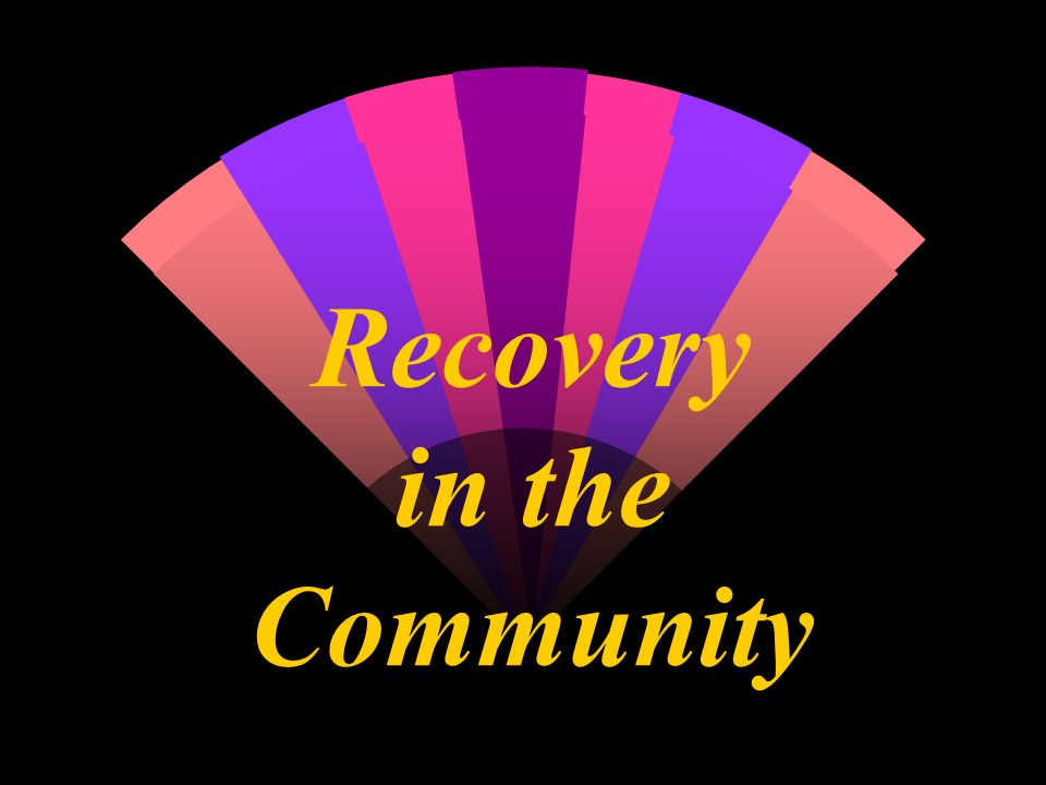 Recovery in the Community