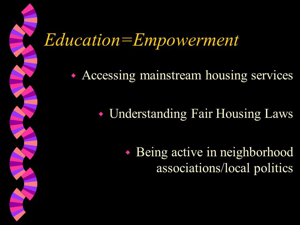 Education=Empowerment