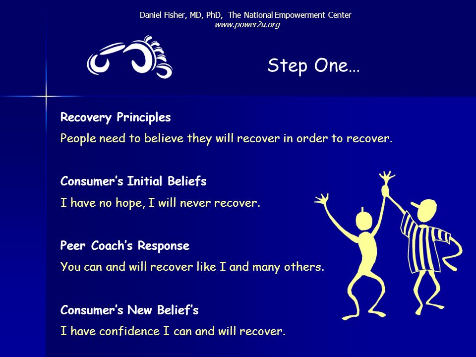 Step One… Recovery Principles