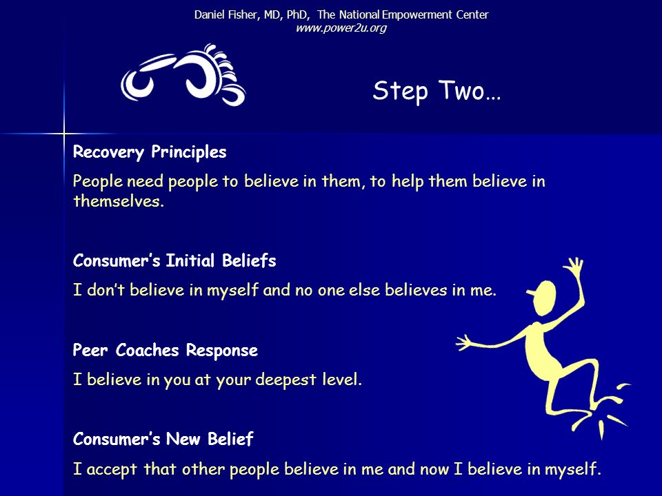 Step Two… Recovery Principles