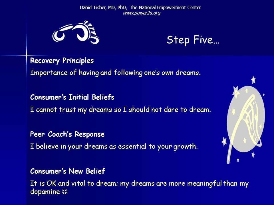 Step Five… Recovery Principles