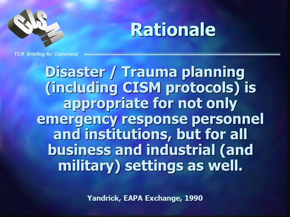 Yandrick, EAPA Exchange, 1990
