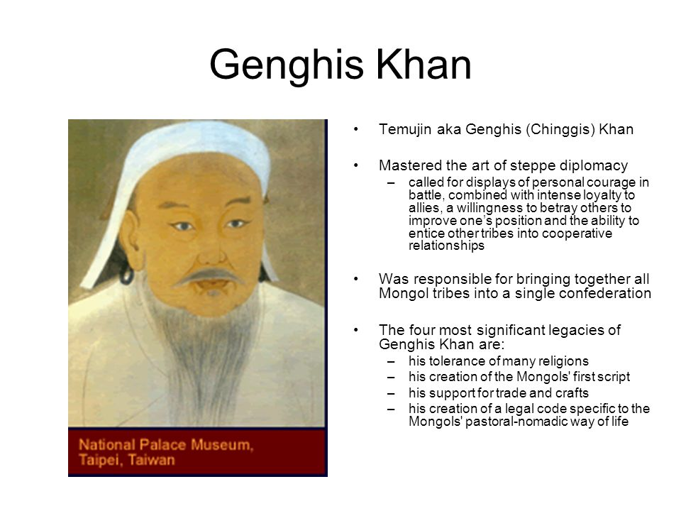 an introduction to the life of genghis khan aka temujin 2018-6-4  1 introduction 2 history 3  (aka double dates)   genghis khan  .