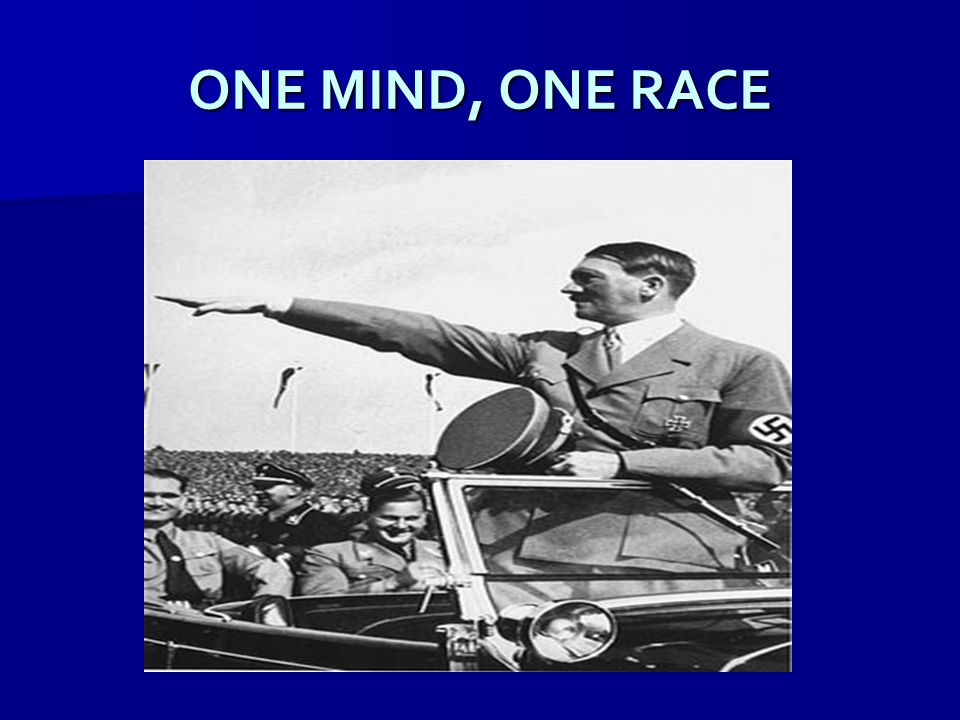ONE MIND, ONE RACE