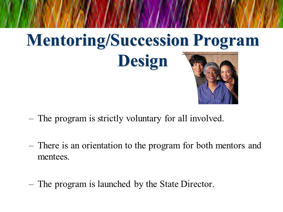 Mentoring/Succession Program Design