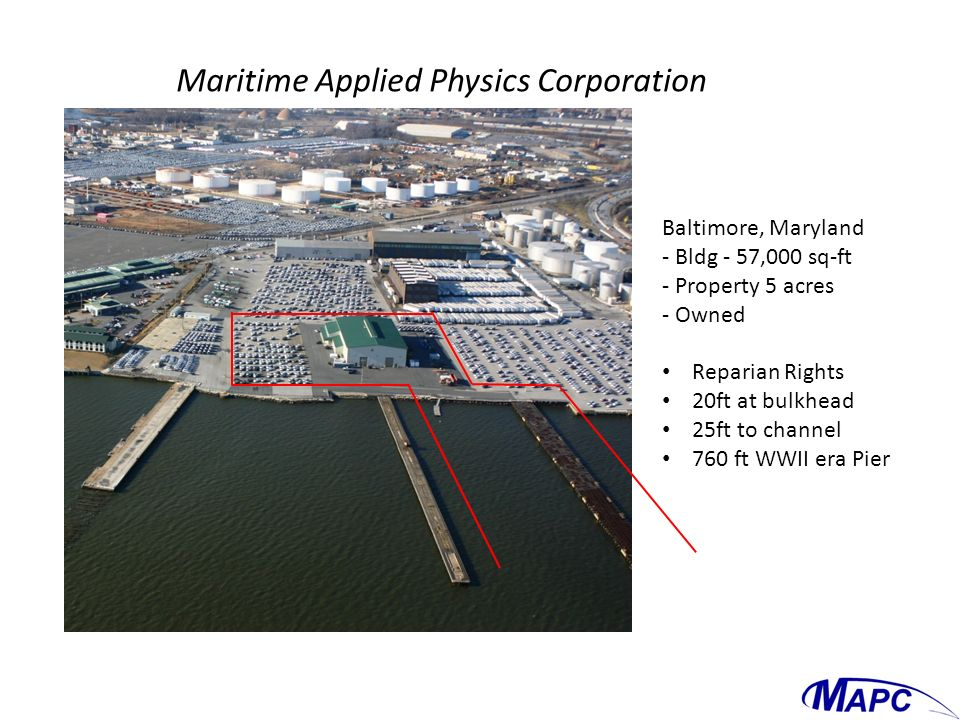 Maritime Applied Physics Corporation