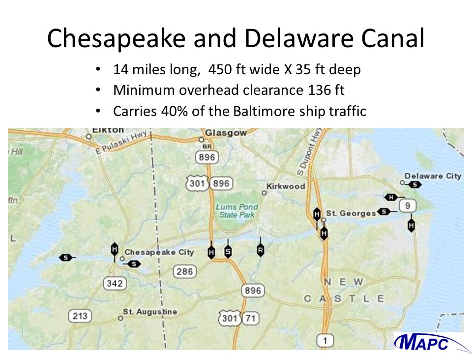 Chesapeake and Delaware Canal