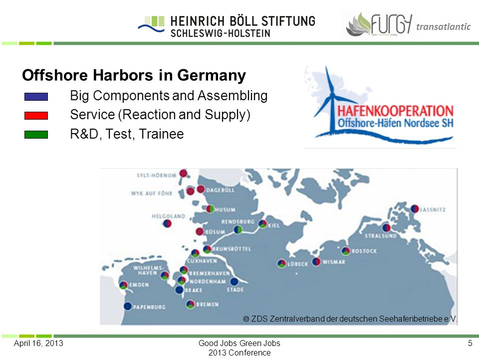 Offshore Harbors in Germany