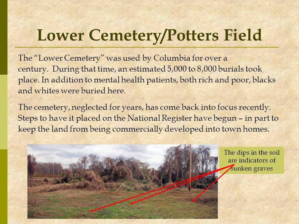 Lower Cemetery/Potters Field