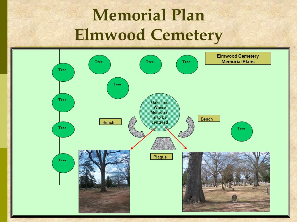 Memorial Plan Elmwood Cemetery