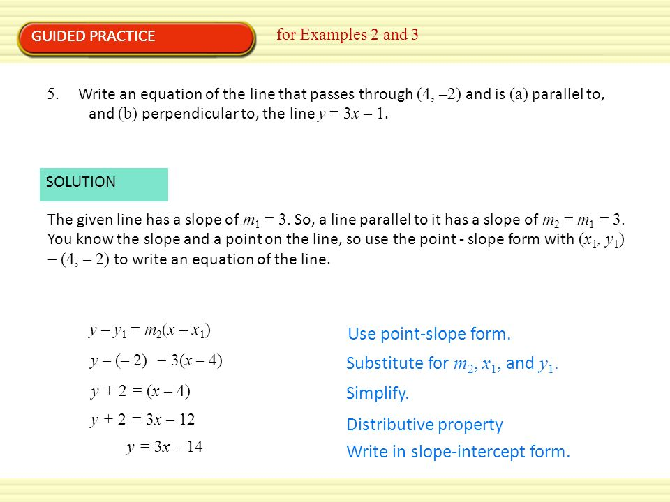 2 4 Writing Linear Equations Worksheet Answers Tessshebaylo – Point Slope Form Worksheet with Answers