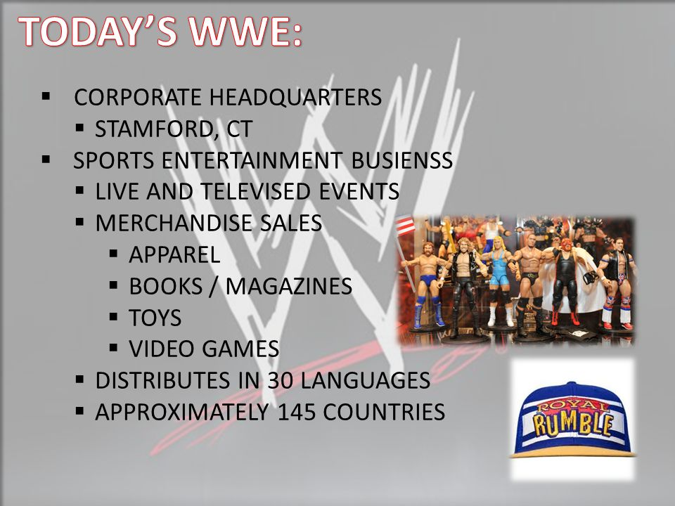 THE MAIN EVENT WWE - World Wrestling Entertainment - ppt video ...