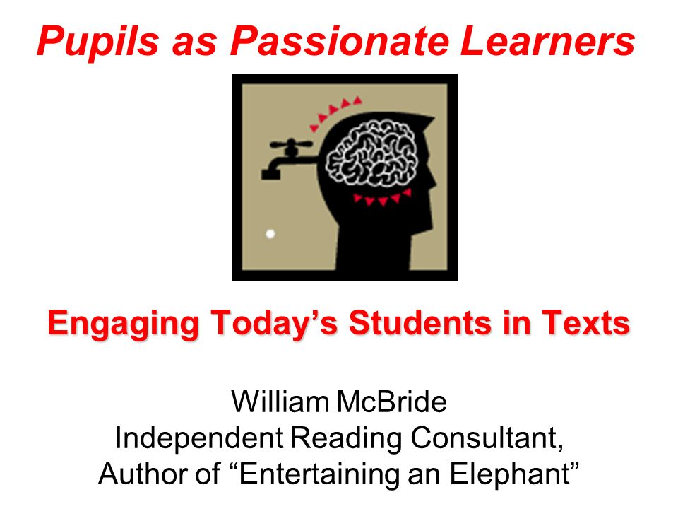 Pupils as Passionate Learners