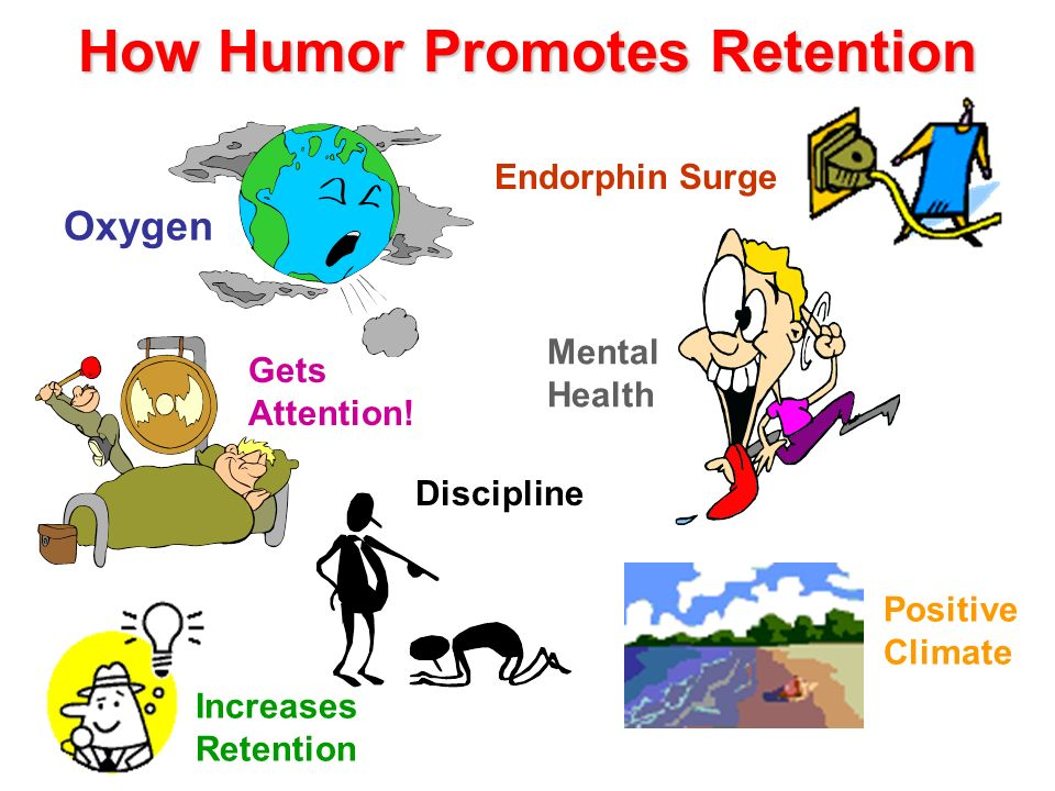 How Humor Promotes Retention