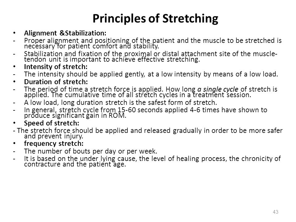 principles of muscular flexibility Principle of specificity training definition: specificity is the principle of training that states that sports training should be relevant and appropriate to the sport for which the individual is training.