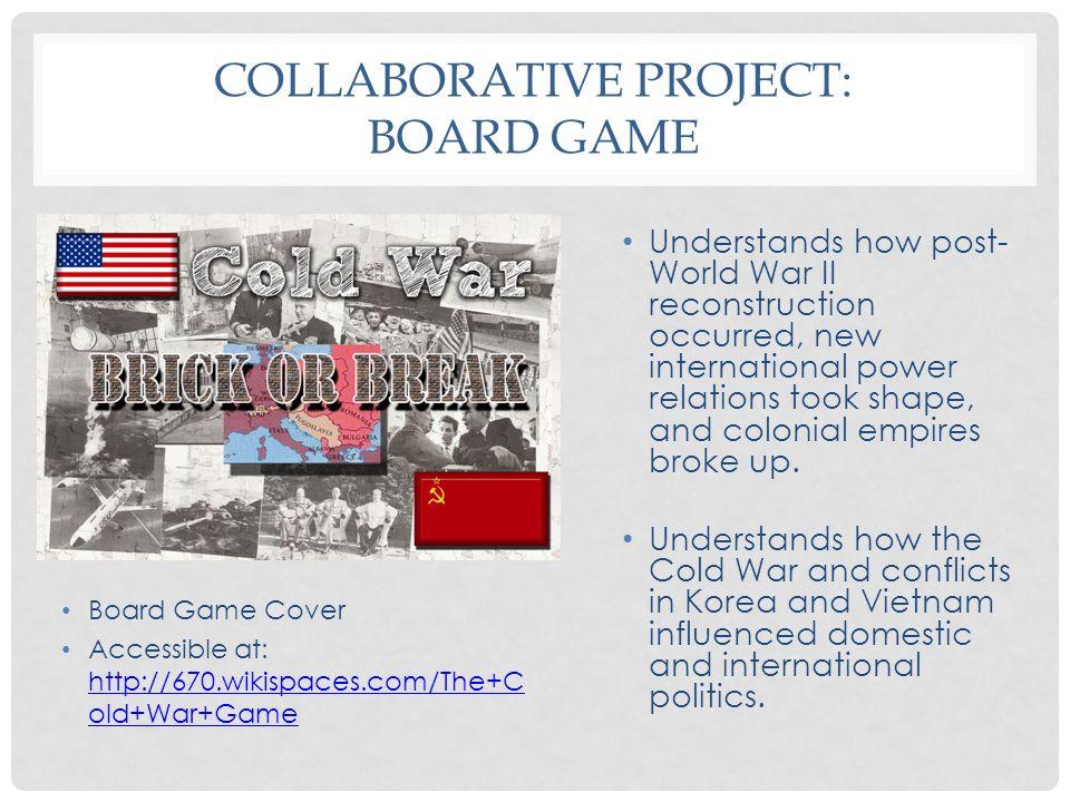 Collaborative Project: Board Game