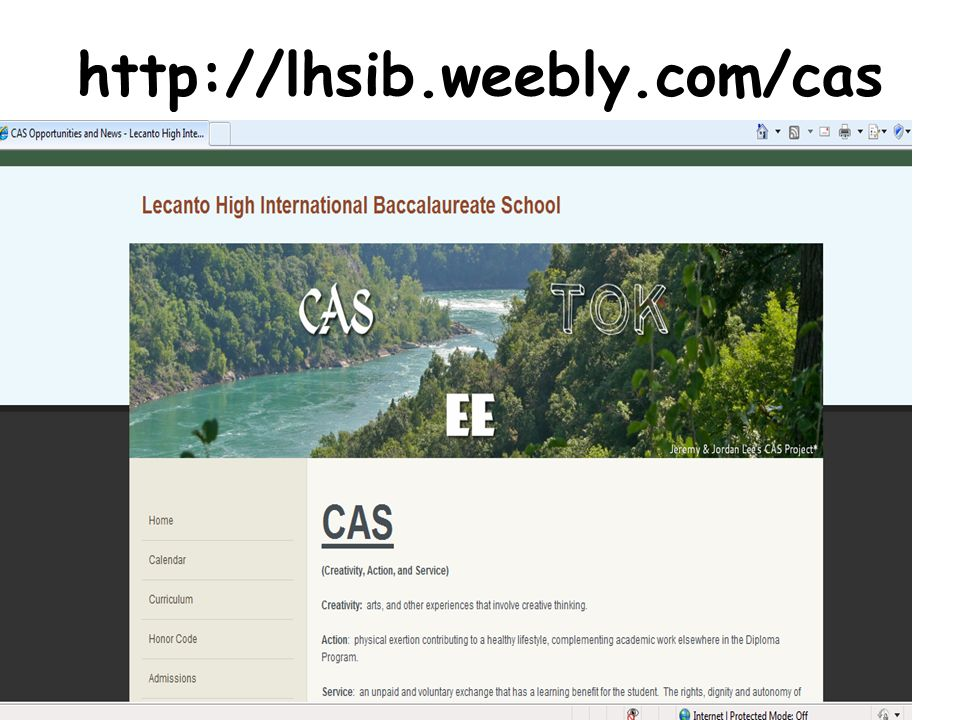 http://lhsib.weebly.com/cas Official LHS site