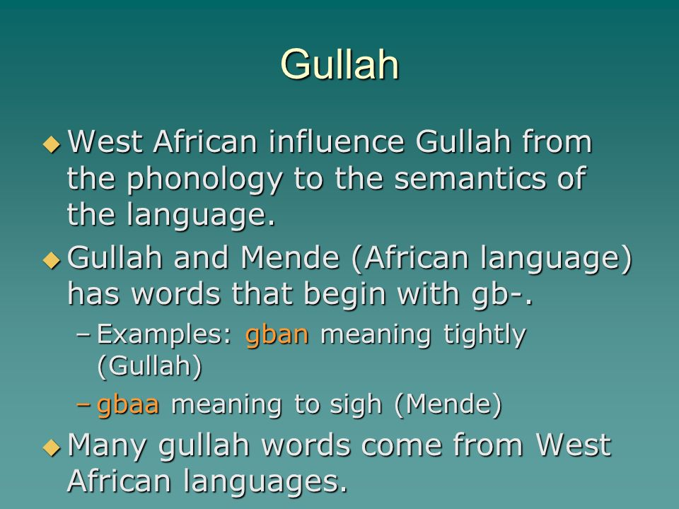 the phonology of african american vernacular An introduction to african-american vernacular english characteristics of african american vernacular an introduction to african-american vernacular.
