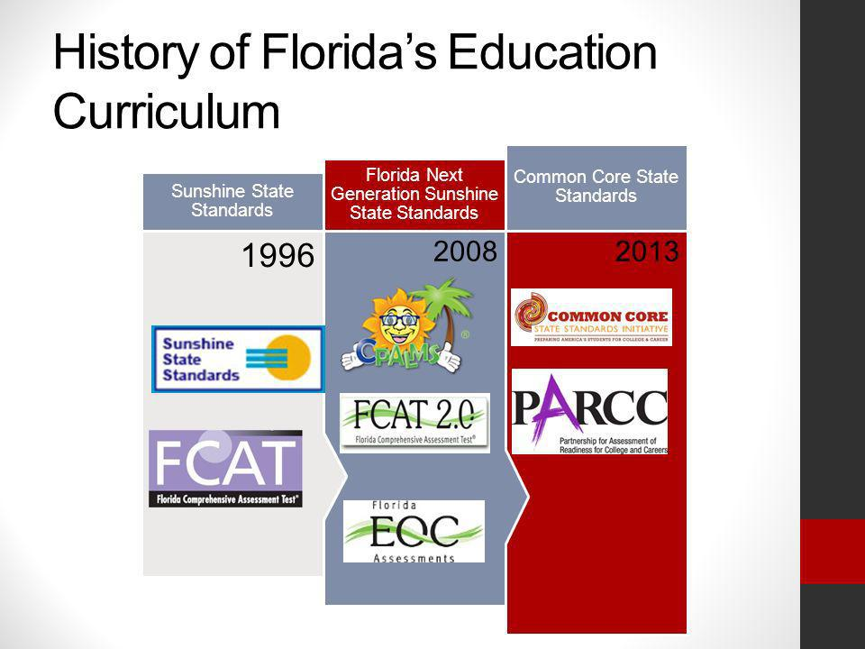 History of Florida's Education Curriculum