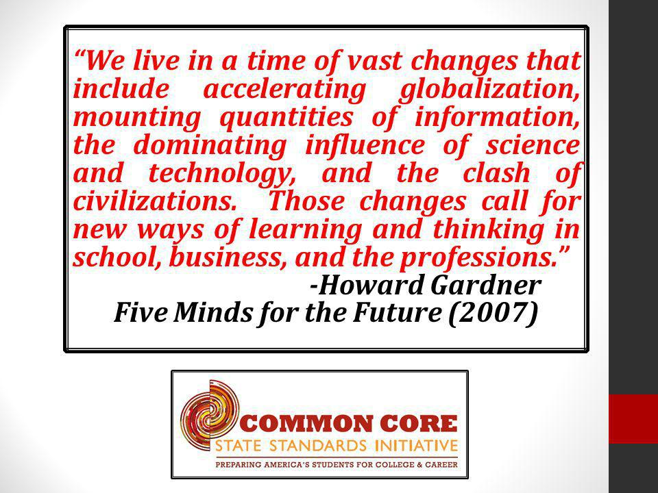 Five Minds for the Future (2007)