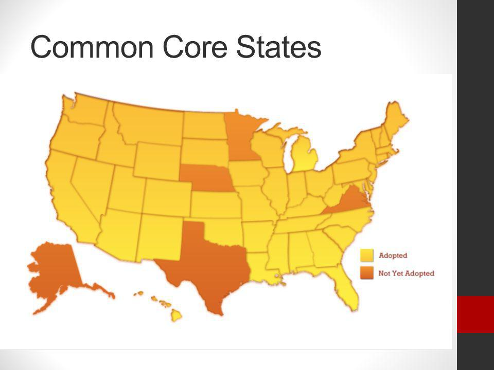 Common Core States