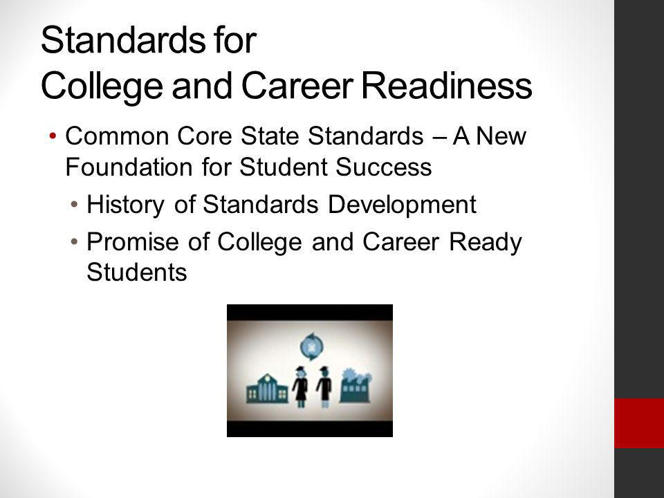 Standards for College and Career Readiness
