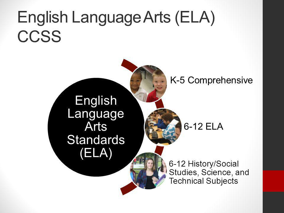 English Language Arts (ELA) CCSS