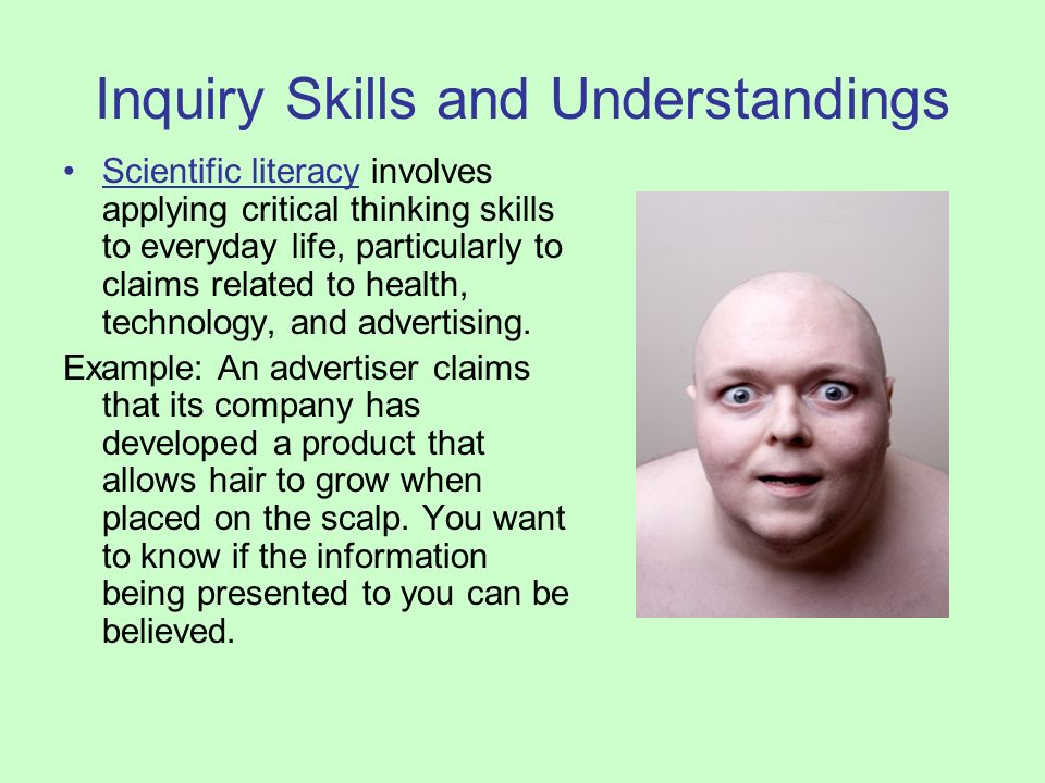 science inquiry skills and education essay The applicious teacher: exploring science inquiry skills find this pin and more on new teachers by the applicious teacher hands on activities for science inquiry skills such great ideas for exploring the senses, the scientific method, and to.