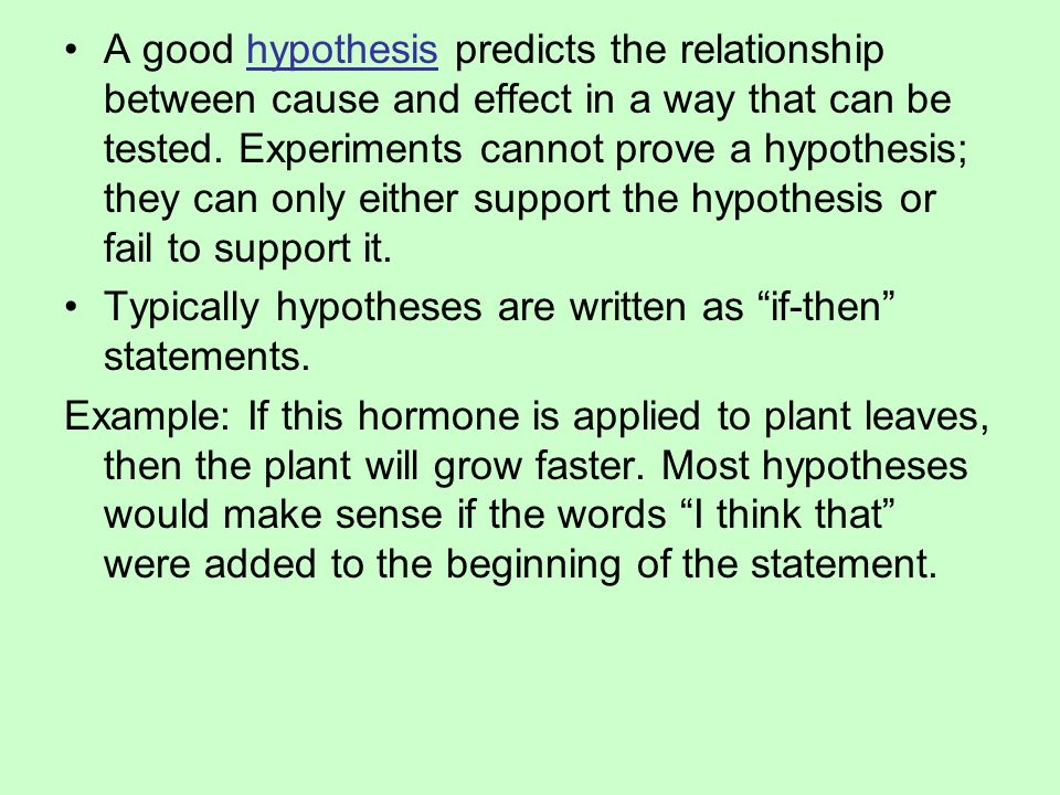 what is the relationship between a hypothesis a conclusion and a thesis statement Thesis examples of broken family hypothesis thesis statement example 1  i never even had a great relationship with my dad  hypothesis is a tentative conclusion.