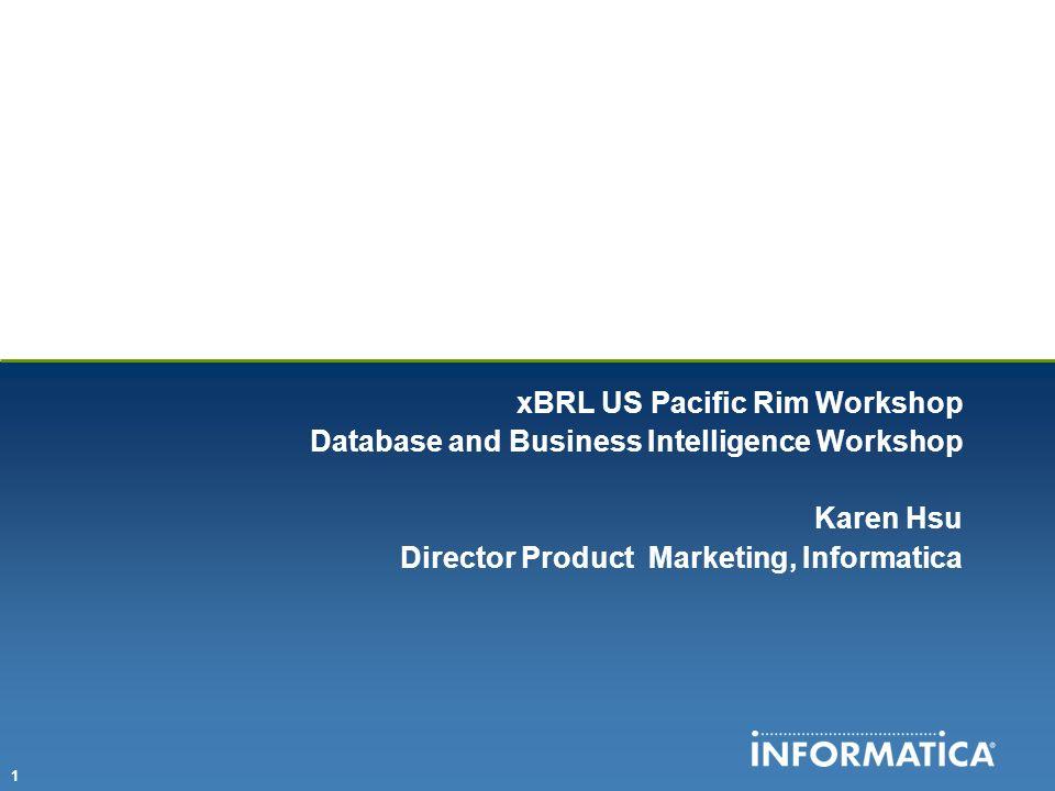 xBRL US Pacific Rim Workshop