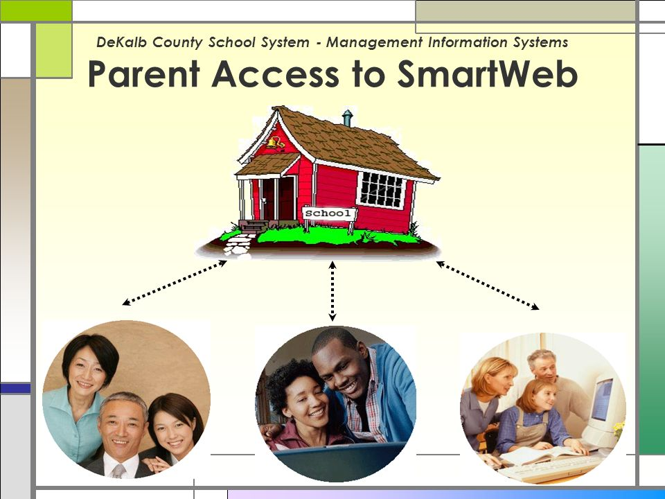 DeKalb County School System - Management Information Systems Parent Access to SmartWeb