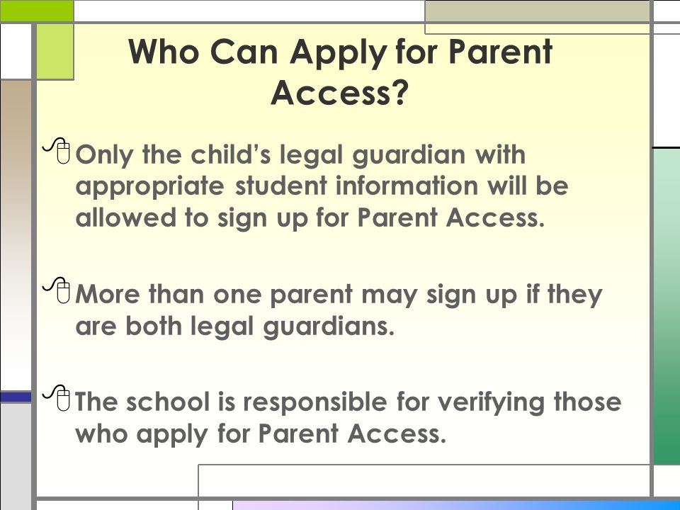how to get a court order for child access