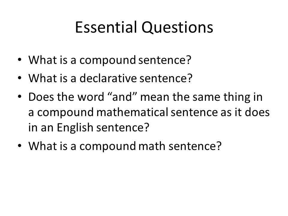 mathematics and english sentences Basic logic — quantifiers  which are ubiquitous in advanced mathematics and which often cause  though it is possible for some english sentences.