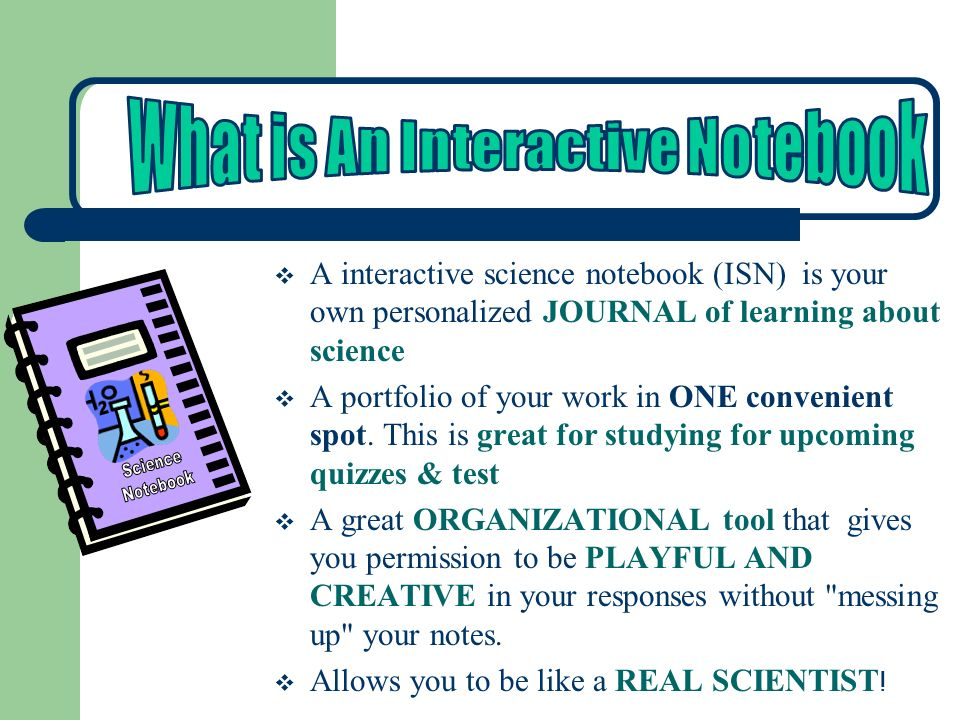 What is An Interactive Notebook