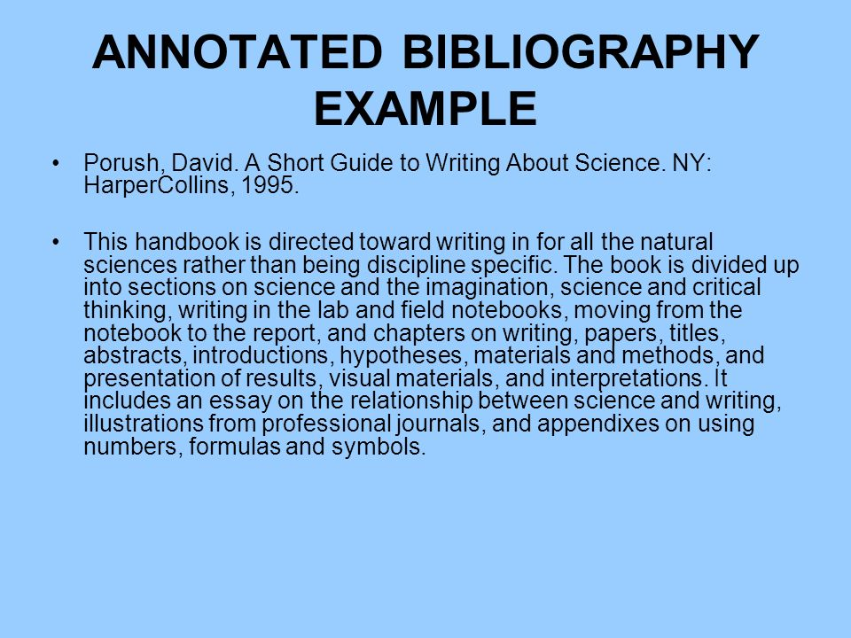 sample annotated bibliography Massasoit Libraries   Massasoit Community College