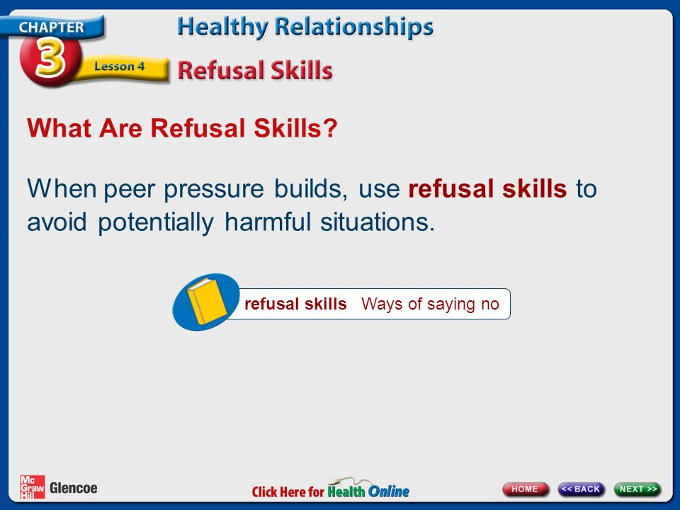 What Are Refusal Skills