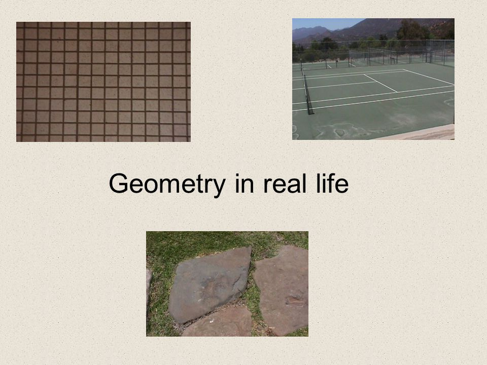 Geometry in real life title