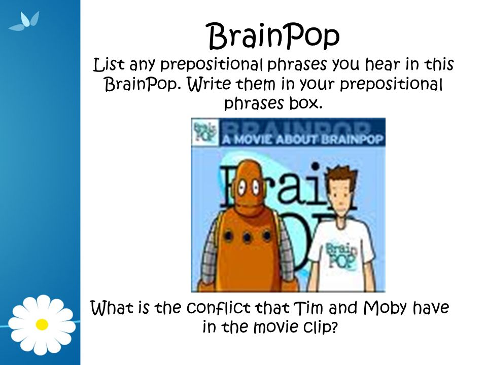 What is the conflict that Tim and Moby have in the movie clip