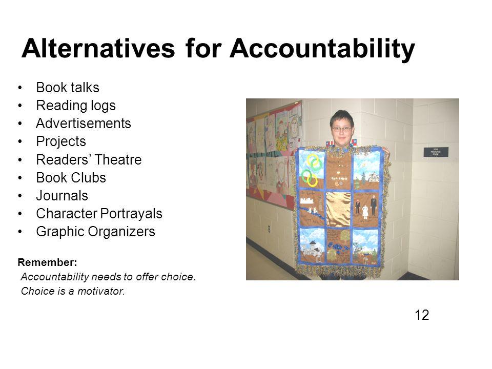 Alternatives for Accountability