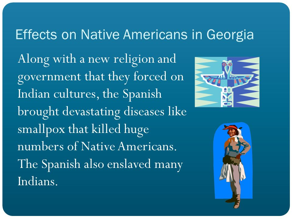 Effects on Native Americans in Georgia
