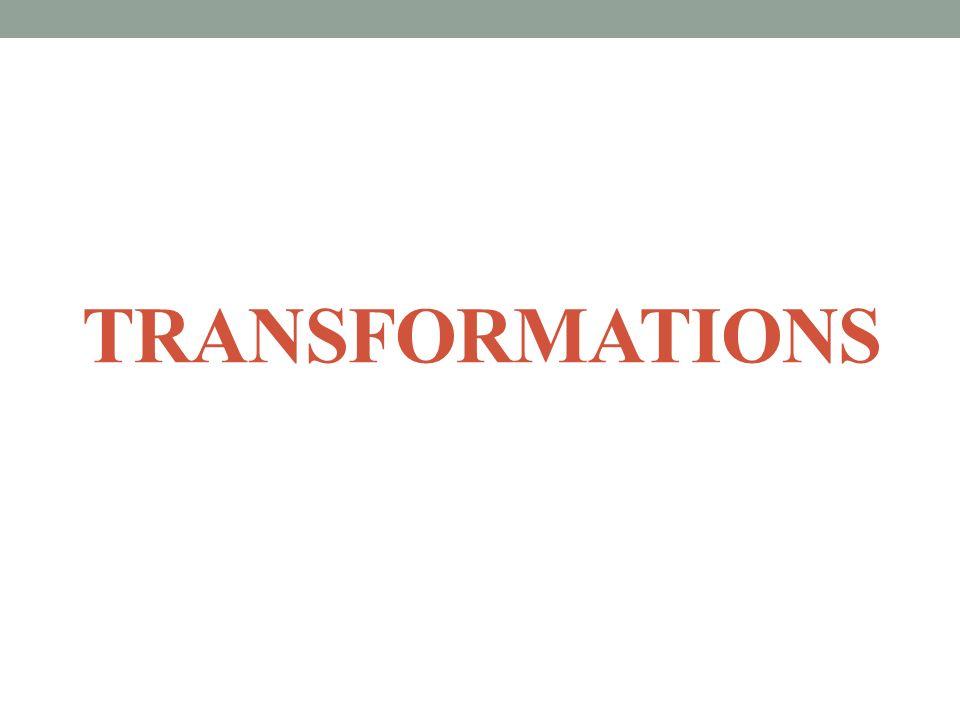 TRANSFORMATIONS SPI 3108.3.3 SPI 3108.4.10