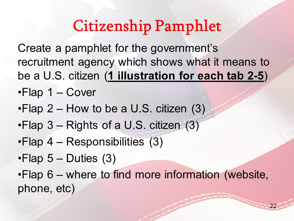 Citizenship Pamphlet