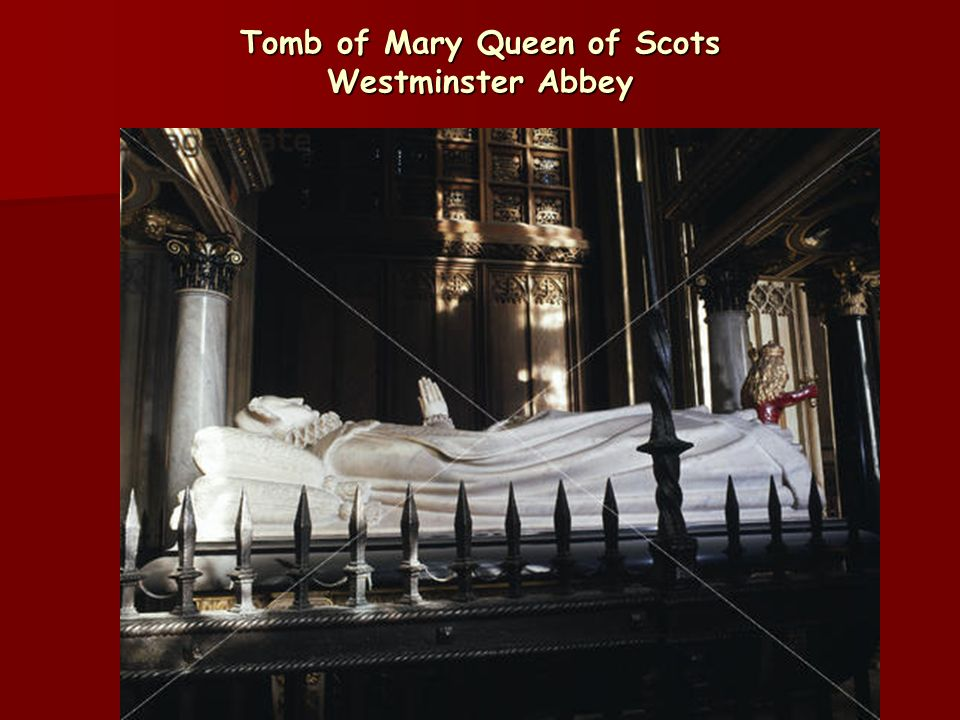 Tomb of Mary Queen of Scots Westminster Abbey