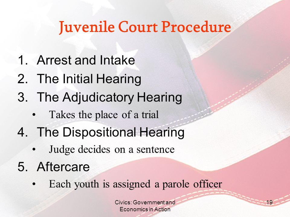 Juvenile Court Procedure