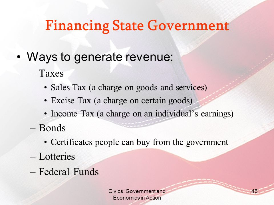 Financing State Government