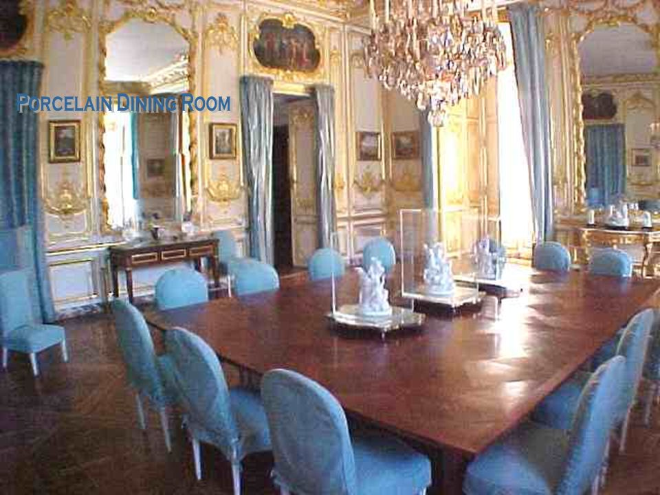 Porcelain Dining Room
