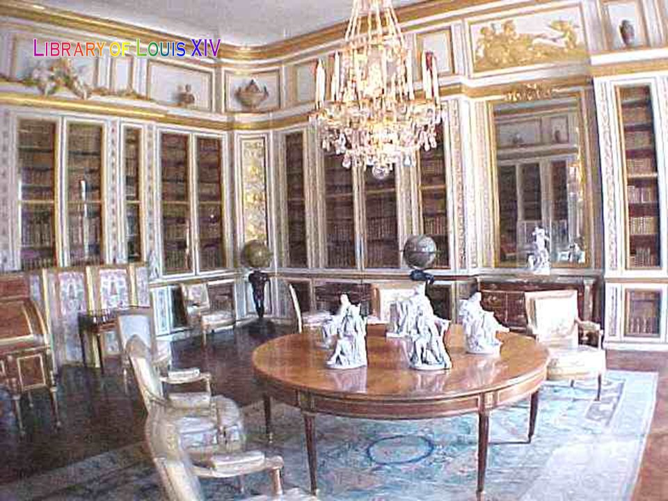 Library of Louis XIV