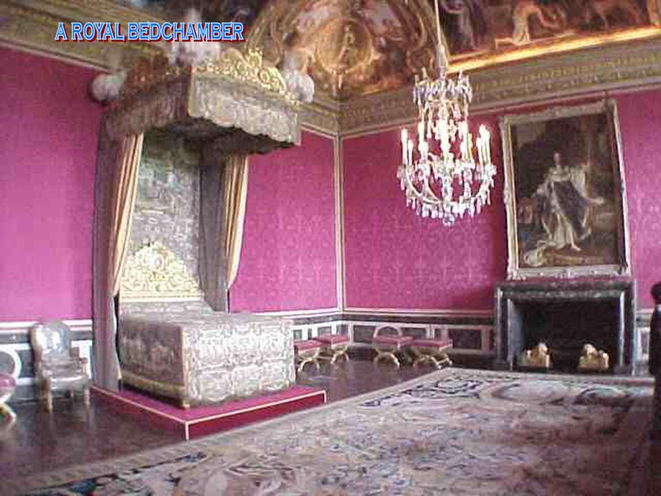 a royal bedchamber